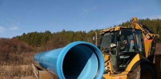 новия водопровод за Перник