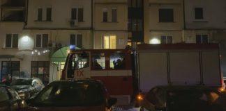 пожар в жилищната кооперация в София