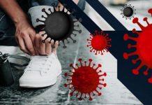 Коронавирусът върху обувки
