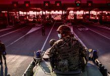 военни по границите