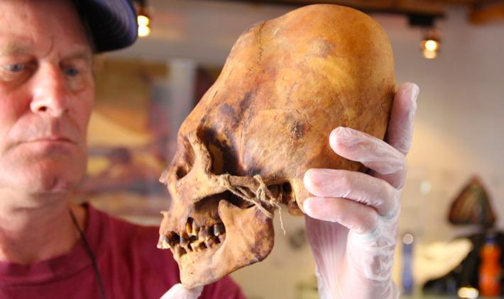 Историята на извънземните черепи от Паракас