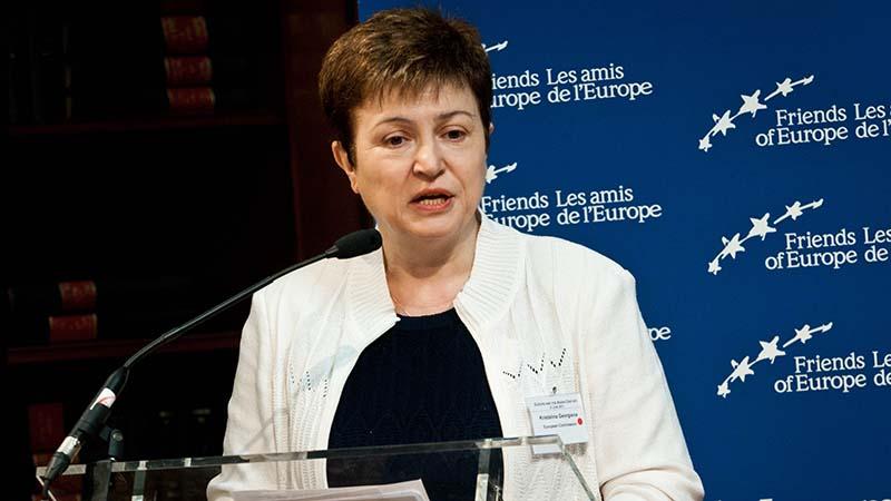 Кристалина обвинения възстановяване на глобалната икономика Кристалина Георгиева икономика мерките за подкрепа на икономиката
