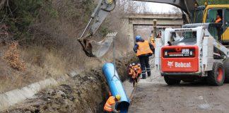 Новият водопровод на Перник