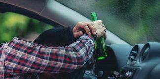 глоба за шофьор който кара пил