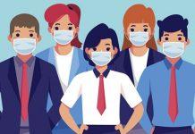 Носенето на защитна маска