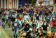 протест Любляна
