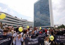 Сараево протест