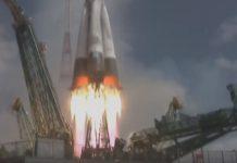 Китай ракета с два спътника