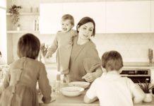вдовица с три деца