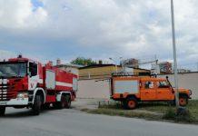 пожар в затвора в Пловдив