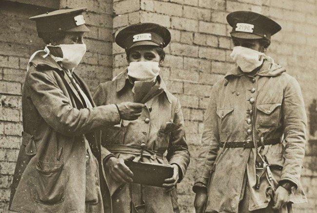 До какво водят протестите срещу маски при пандемията от испански грип