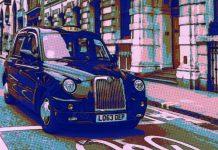 таксиметров шофьор Англия
