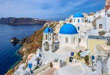 Влизането в Гърция