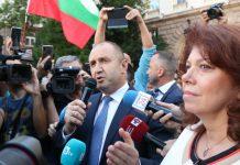 Румен Радев пред президентството
