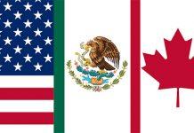 споразумение за търговия Мексико САЩ Канада