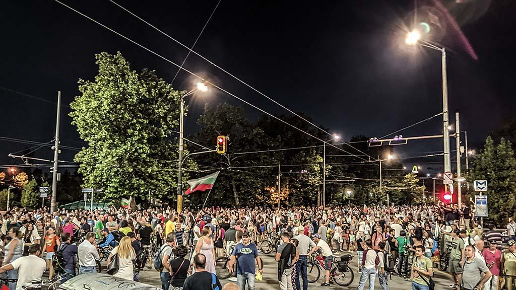 Ден 33: Нова седмица на антиправителствените протести