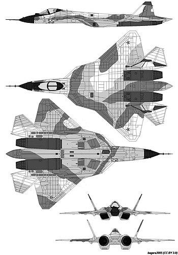 Руският Су-57 става стелт