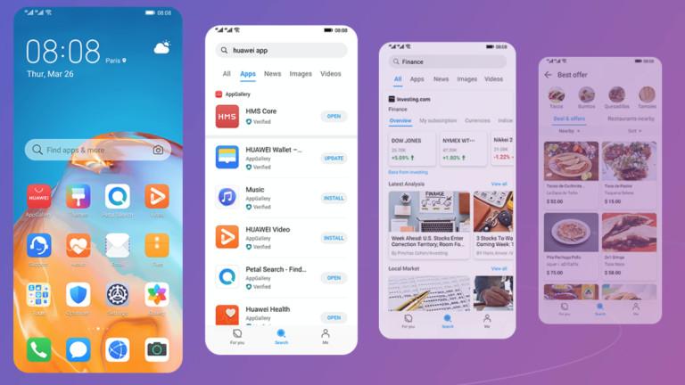 Huawei заобиколи ограниченията за търсачката на Google с Petal Search