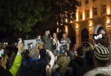 Клеър Дейли протест