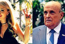 """Адвокатът на Тръмп в компрометираща ситуация с българката от """"Борат"""" (ВИДЕО + ГАЛЕРИЯ)"""