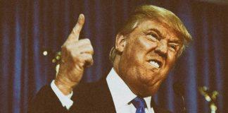 Тръмп почервенял от яд