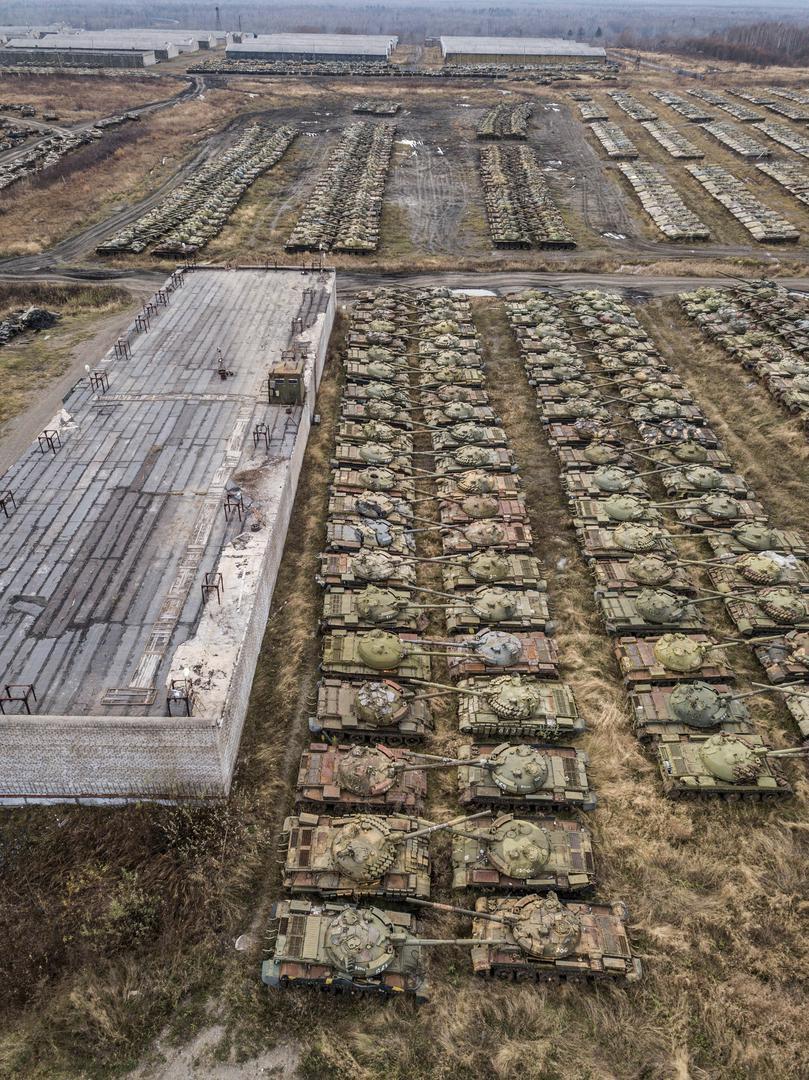 Удивителна гледка: Вижте танковата гробница на СССР (СНИМКИ)