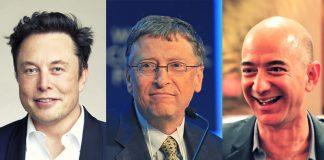 Тримата най-богати в Америка
