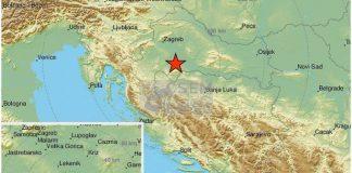 Земетресение Хърватия