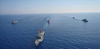 Турция военноморски учения