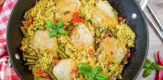 Ориз със зеленчуци и пиле