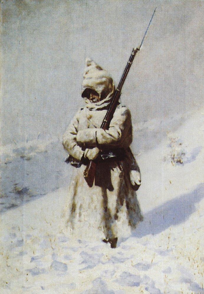 Зимата в Балкана на Шипка изненадала и руската войска
