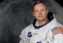 Луната Нийл Армстронг