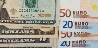 евро и долари