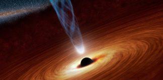 черна дупка със среден размер