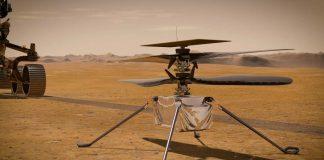 хеликоптер на Марс