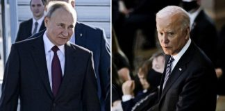 Байдън Путин среща