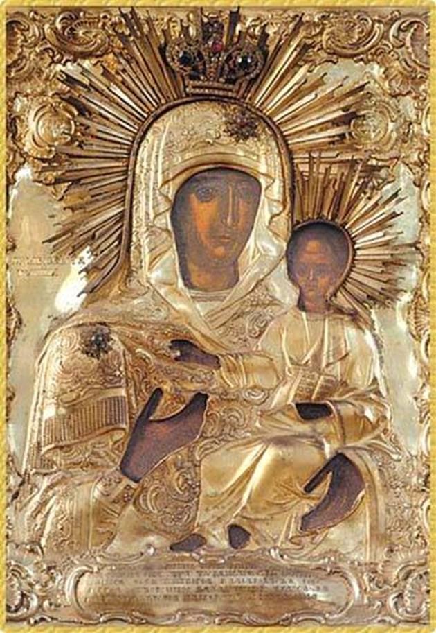 Пристигна чудотворна икона, заредена от Богородица