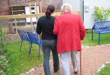възрастни хора в Германия
