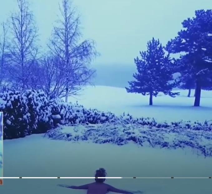 Гала се прави на интересна за голо видео