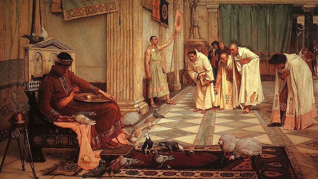 упадъкът на Римската империя