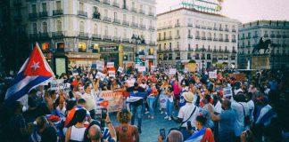 протести в Куба