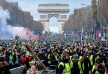 Франция бунт