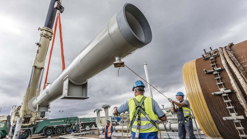 дефицит на газ Северен поток 2 завършен