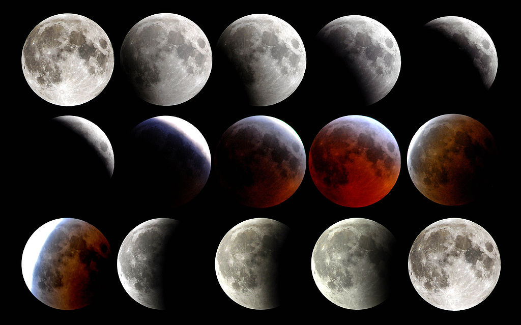 Айзък Азимов луната