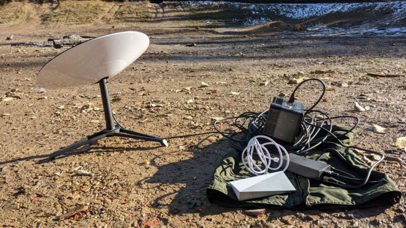 комуникации чрез сателити