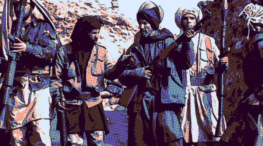 охранител Кабул талибани селфи