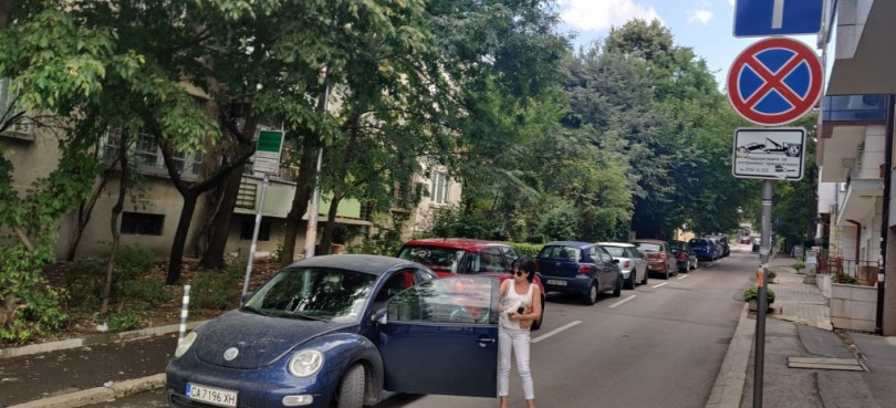 Столичани пропищяха от Цветанка Ризова - кара като мутра, заплашва шофьори (СНИМКА)