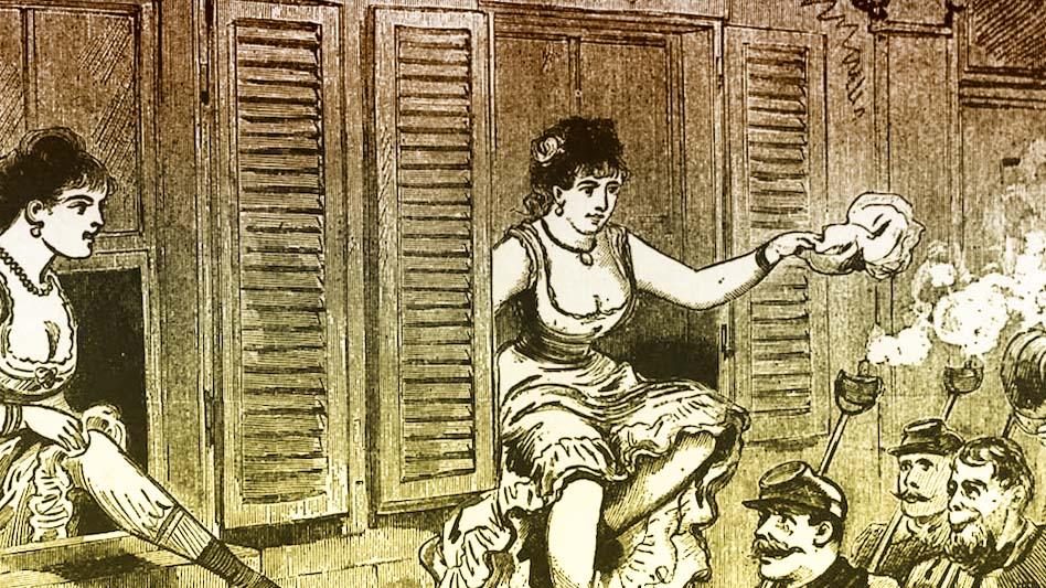 първите проститутки