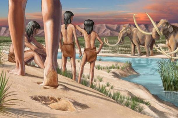 23 000-годишни човешки следи открити в Ню Мексико преобръщат историята
