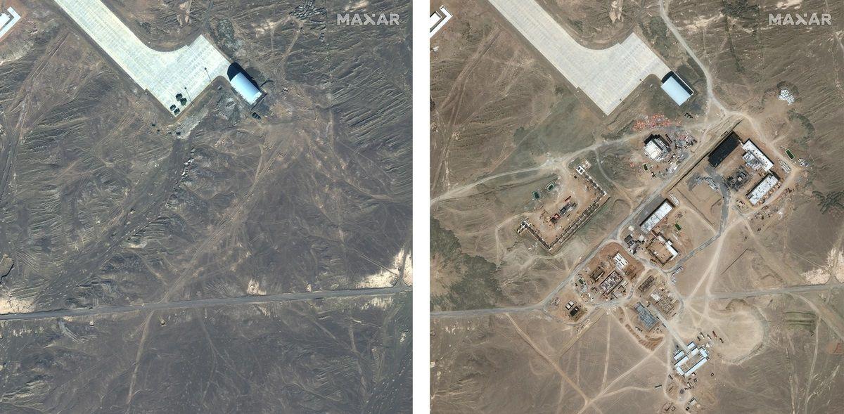 """Китай също има своя """"Зона 51"""" (СНИМКИ)"""